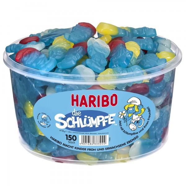 Haribo Schlümpfe 150 Stück Dose