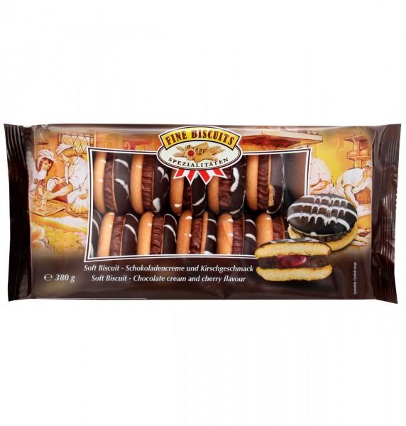 Jaffa Sandwich Schokolade-Kirsch