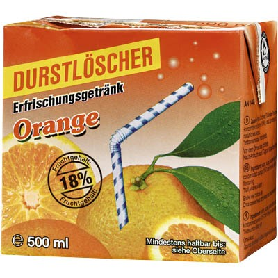 Durstlöscher Orange 0,5l