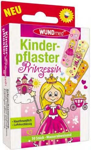 Kinderpflaster Prinzessin