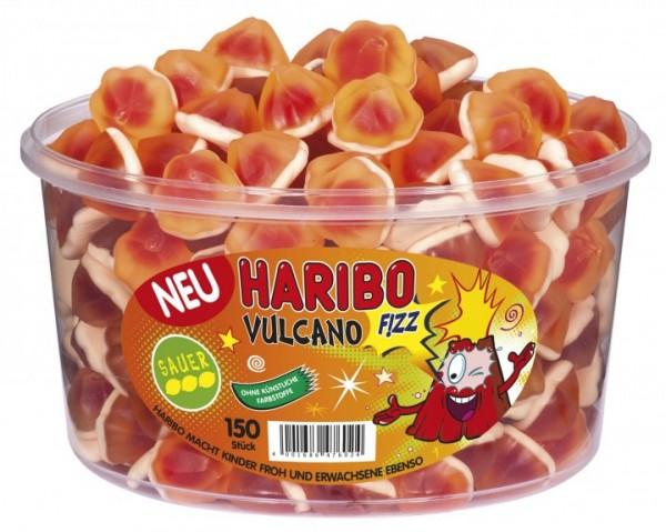 Haribo Vulcano FIZZ 150 Stück Dose