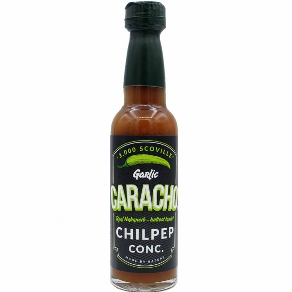 CARACHO Chilpep Concentrate Garlic Real Habanero Sauce 90ml