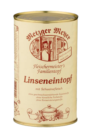 Metzger Meyer Linseneintopf
