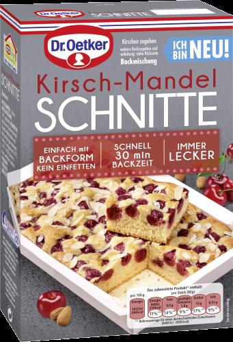 Kirsch-Mandel Schnitte
